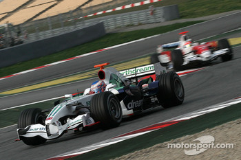 Rubens Barrichello, Honda Racing F1 Team, RA108