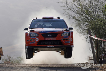 Hening Solberg and Cato Menkerud, Stobart VK M-Sport Ford World Rally Team, Ford Focus RS WRC 2007