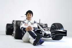 Kazuki Nakajima with the new Williams FW30