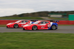 Two Ferrari 430's Racing