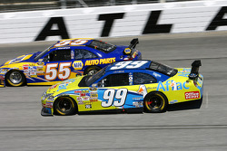 Michael Waltrip and Carl Edwards