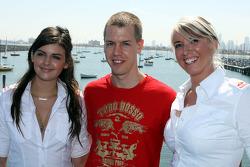 Sebastian Vettel, Scuderia Toro Rosso with girls