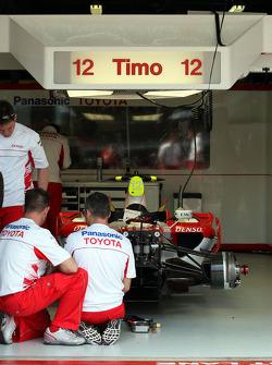 Car of Timo Glock, Toyota F1 Team