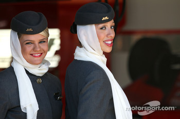 Etihad girls