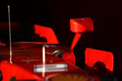 Ferrari F2008 body work detail