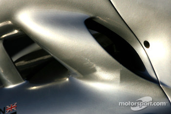 McLaren Body work detail