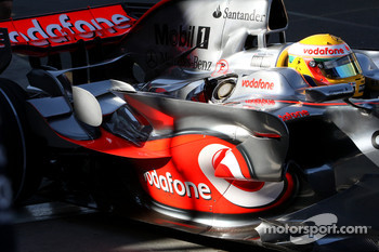 Lewis Hamilton, McLaren Mercedes, MP4-23, sidepod