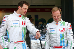 Rubens Barrichello, Honda Racing F1 Team, Alexander Wurz, Test Driver, Honda Racing F1 Team