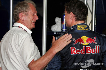 Motorsport consultant of Red Bull Helmut Marko and David Coulthard, Red Bull Racing