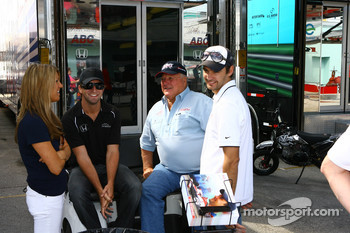 A.J. Foyt IV, A.J. Foyt and Darren Manning