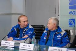 Vladimir Chagin and Semen Yakubov