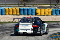 #74 Safina Racing with Mitchum Motorsports Porsche GT3 Cup: Anthony Lazzaro, Joseph Safina, Derek Skea