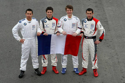 Formula BMW Europe 2008, French Drivers Group Picture