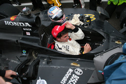 Race winner Graham Rahal