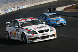 Alex Zanardi, BMW Team Italy-Spain, BMW 320si and Robert Huff, Chevrolet, Chevrolet Lacetti