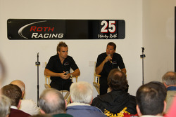 Roth Racing driver Jay Howard and owner-driver Marty Roth