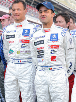 Le Mans Series drivers photoshoot: Stéphane Sarrazin and Pedro Lamy