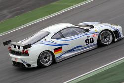 #90 Farnbacher Racing Ferrari F430 GT: Anthony Beltoise, Pierre Kaffer, Pierre Ehret
