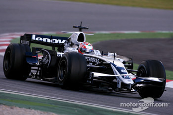 Kazuki Nakajima, Williams F1 Team, on slicks