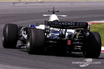 Nico Rosberg, Williams F1 Team, on slicks