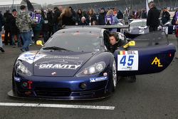 #45 Gravity Racing International Ascari KZ1 GT3: Howard Spooner, Jonathan Lang