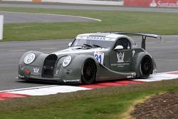 #31 AutoGT Racing Morgan Aero 8 GT3: Marguerite Laffite, G-A Sturdza
