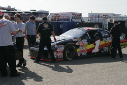 Miccosukee Chevy in tech inspection line
