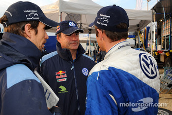 Carlos Sainz and Giniel de Villiers
