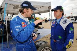 Dirk von Zitzewitz and Carlos Sainz