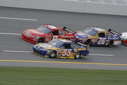 Michael Waltrip, Kasey Kahne and Jamie McMurray