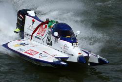 #25 Team Caroline: Pascal Bernard, Fabrice Aimé, Alain Arreteau, Christian Del Castillo