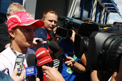 Heikki Kovalainen, McLaren Mercedes gets the