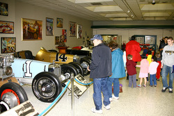 IndyCar Series fans enjoy the House of Fame Museum