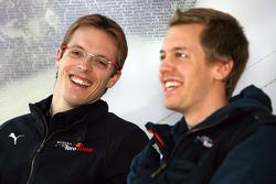 Sébastien Bourdais, Scuderia Toro Rosso and Sebastian Vettel, Scuderia Toro Rosso