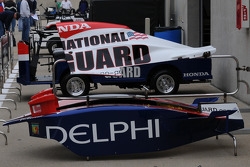 Panther Racing's extra sidepods for Vitor Miera's car