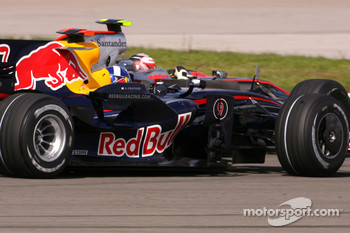 David Coulthard, Red Bull Racing and Heikki Kovalainen, McLaren Mercedes