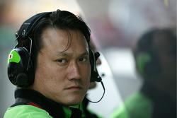 Kawasaki technical Manager Naoya Kaneko