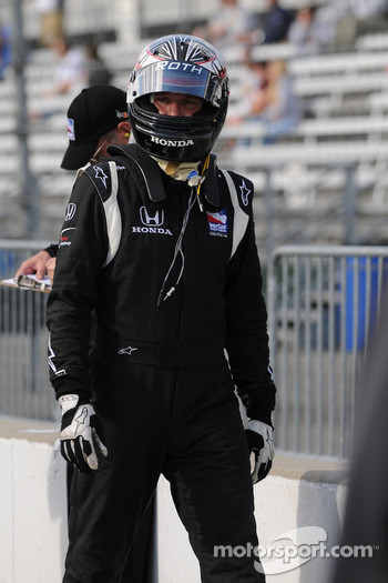 Marty Roth was prepared to go out to re-qualify