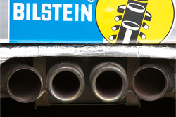 #32 Porsche 996 GT3 Cup exhaust pipes
