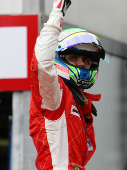 Felipe Massa, Scuderia Ferrari on pole