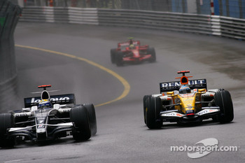 Nico Rosberg, Williams F1 Team, Fernando Alonso, Renault F1 Team