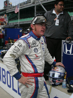 Buddy Lazier after the race