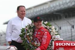 Chip Ganassi and Scott Dixon