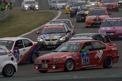 #194 BMW E36 325i: Stefan Hardtke, Roland Hardtke, Gerd Flentje