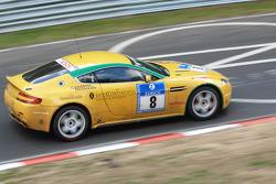 #8 Aston Martin V8 Vantage N24: Mathew Marsh;Shinichi Katsura