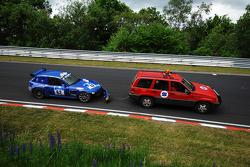 Problem for #62 BMW Z3 M: Patrick Prieur;Fabrice Reicher;Patrick Engel;Patrick Chaumier