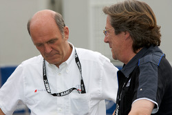 Dr. Wolfgang Ullrich and Daniel Poissenot