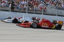 Justin Wilson and John Andretti