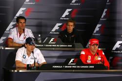 Adrian Sutil, Force India F1 Team, Robert Kubica,  BMW Sauber F1 Team, Sebastian Vettel, Scuderia Toro Rosso, Kimi Raikkonen, Scuderia Ferrari
