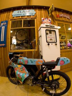 Vintage bike display